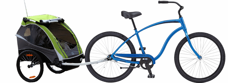 adult bike rental, 2-Wheeled Bike Rental, Bicycle Rental, cruiser bike rental, kids trailer rental, kids attachments bike rental