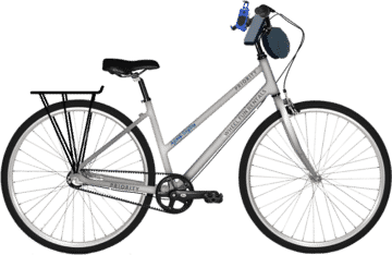 2 Wheel Infinity Shifting Priority Hybrid Bike