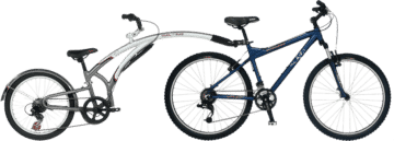 bike rental, 2-Wheeled Bike Rental, Bicycle Rental, mountain bike rental, kids bike attachment rental, tag-a-long bike rental