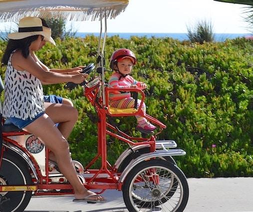 Ocean bicycle rental