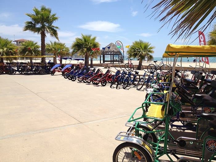 Beach rentals and Bike rentals at Doheny State Beach