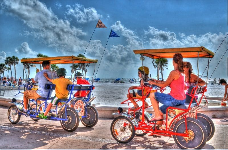 Bike rentals at Dana Point