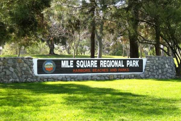 CA Fountain Valley Mile Square Park Bike Rentals
