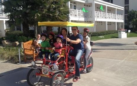 Surrey Bike Rental at Hotel Del Coronado