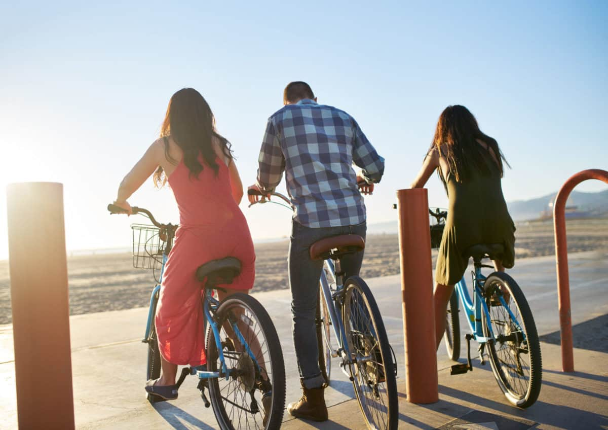 Bike Rentals at Long Beach's Shoreline Village