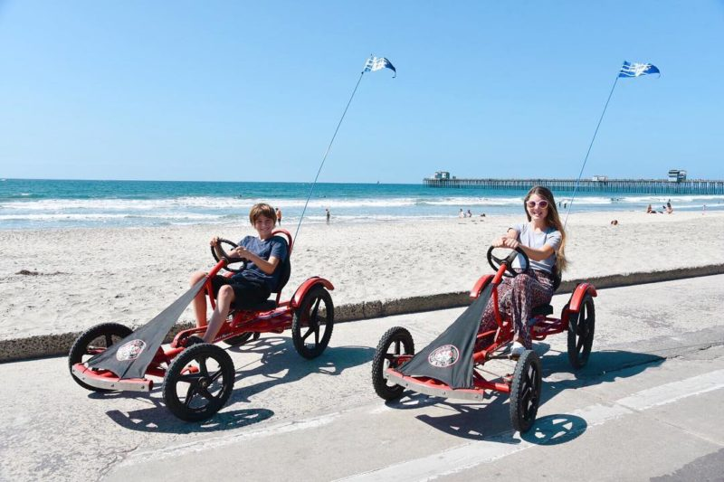 Quad sport specialty cycles from Wheel Fun Rentals in Oceanside, CA