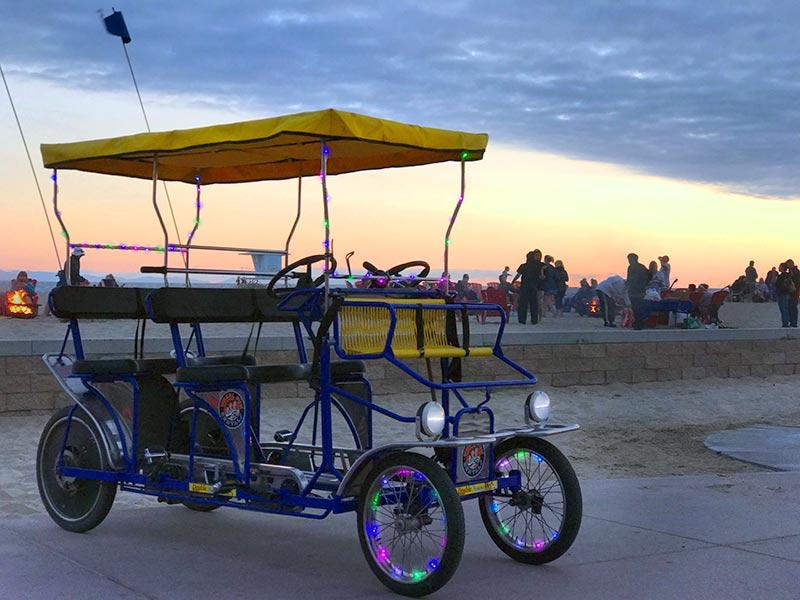 Surrey Bike Night Rides at Embassy Suites Mandalay Beach Resort in Oxnard, CA