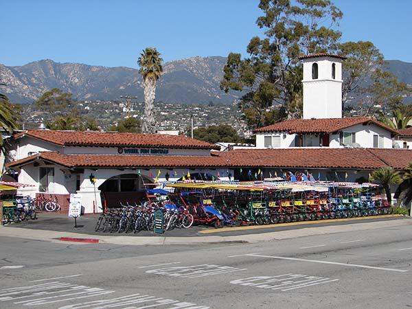 Santa Barbara Stearns Wharf Bike Rentals