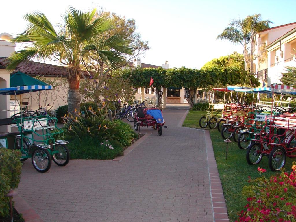 Fess Parker Doubletree Bikes for Rent