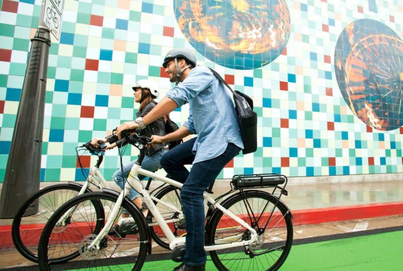 Shoreline Village electric bike rentals