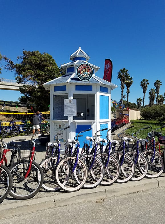 Bike Rentals Beach Rentals Bike Tours In Ventura California