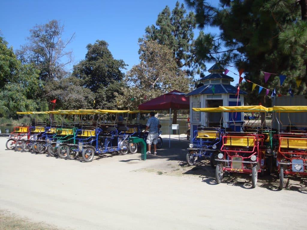 Whittier Narrows Kiosk