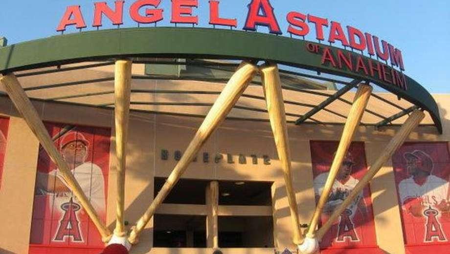 Angel Stadium in Anaheim, CA