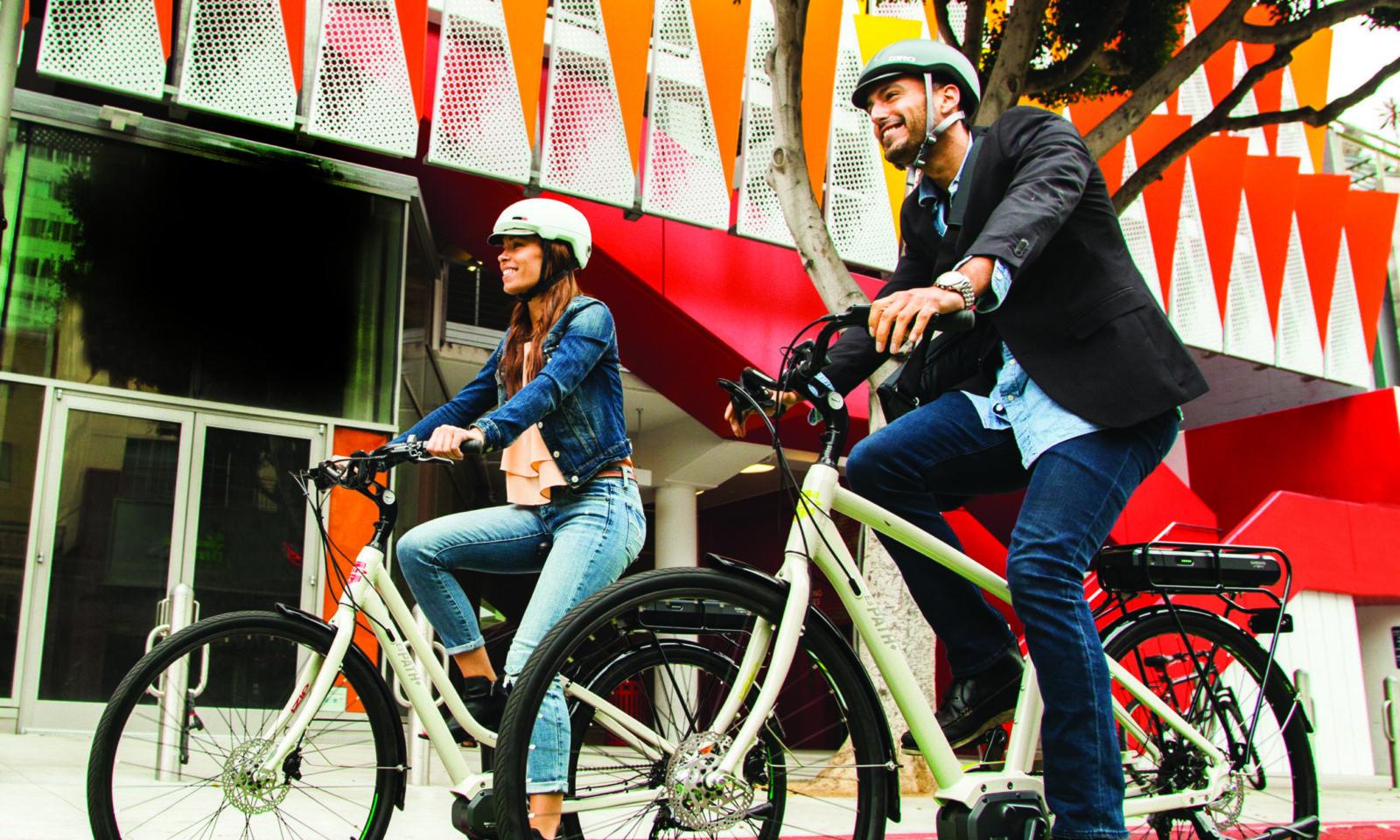 Long Beach Shoreline Village Electric Bikes