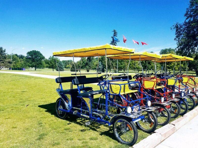 Surrey rentals by Wheel Fun Rentals in Denver, CO