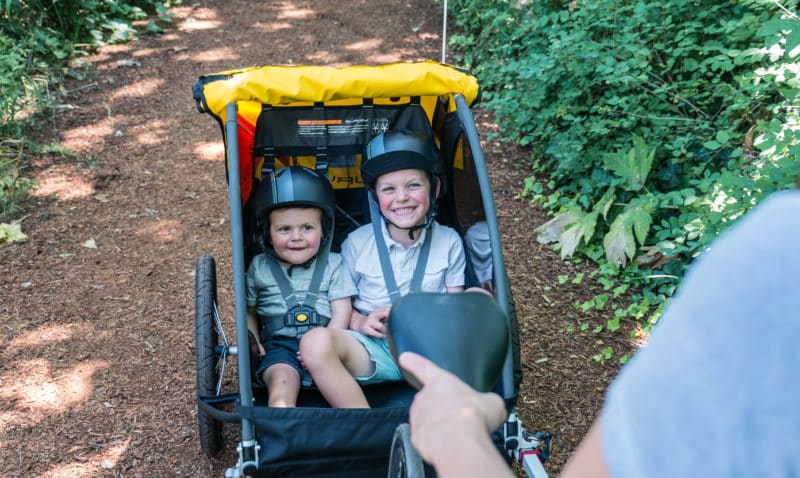 Rent kids trailers & attachments