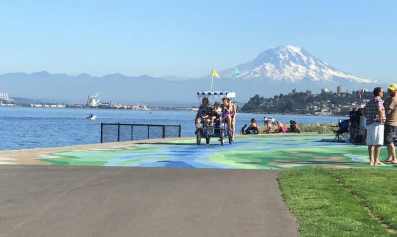 Bike Rentals Tacoma Washington in Point Ruston wheel fun rentals
