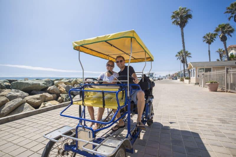 Bike rentals beach