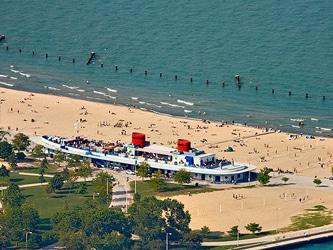 North Ave Beach Chicago Bike Rentals
