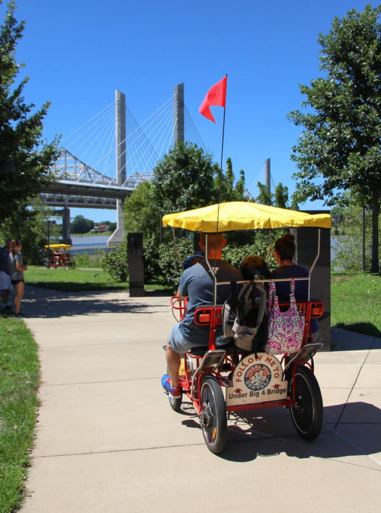 big four bridge in Louisville, KY