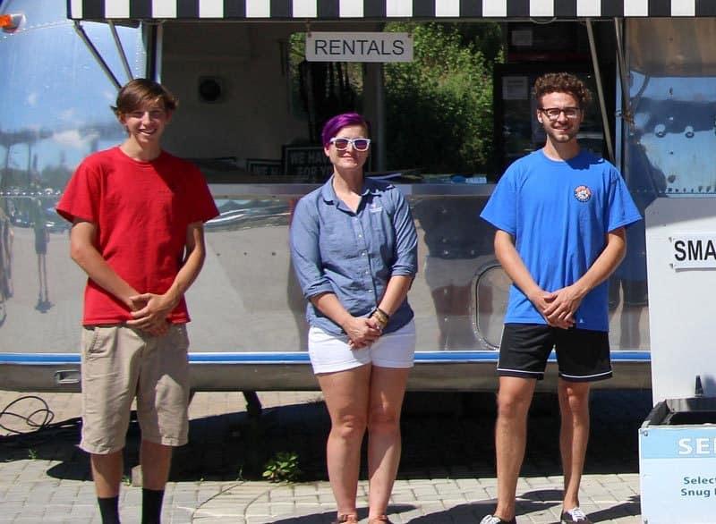 Wheel Fun Rentals Waterfront Park Staff