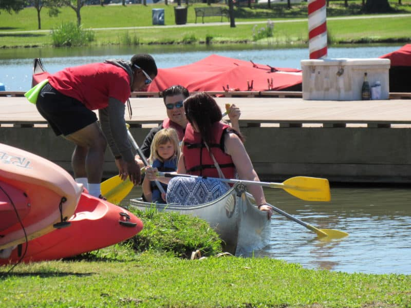Canoe rentals from Wheel Fun Rentals in New Orleans