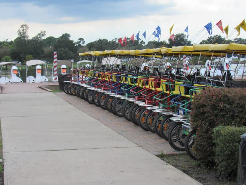 Bike and boat rentals from Wheel Fun Rentals in New Orleans