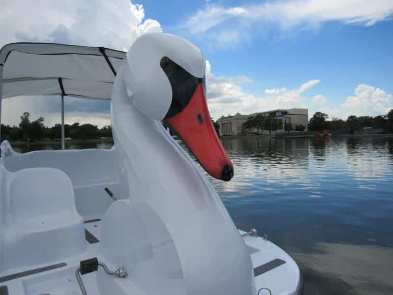 Swan Boat rentals in New Orleans, LA