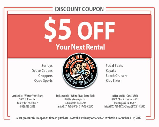 Coupons for indy