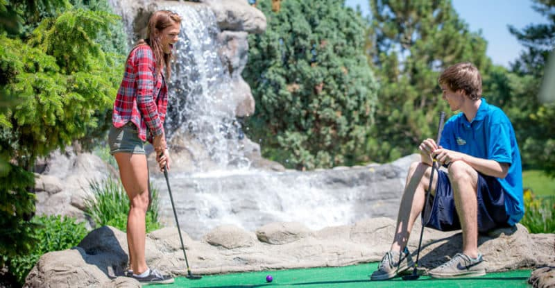 Join us in Richfield in Veterans Memorial Park for a day on the mini golf course