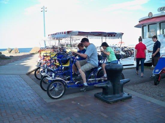 Bike rentals in Duluth