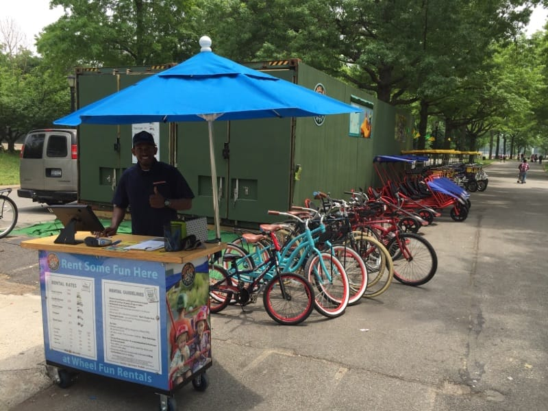 Flushing Meadows Corona Park Queens Bike Rentals