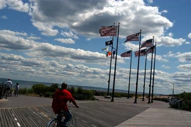Rent bikes FDR boardwalk Staten island
