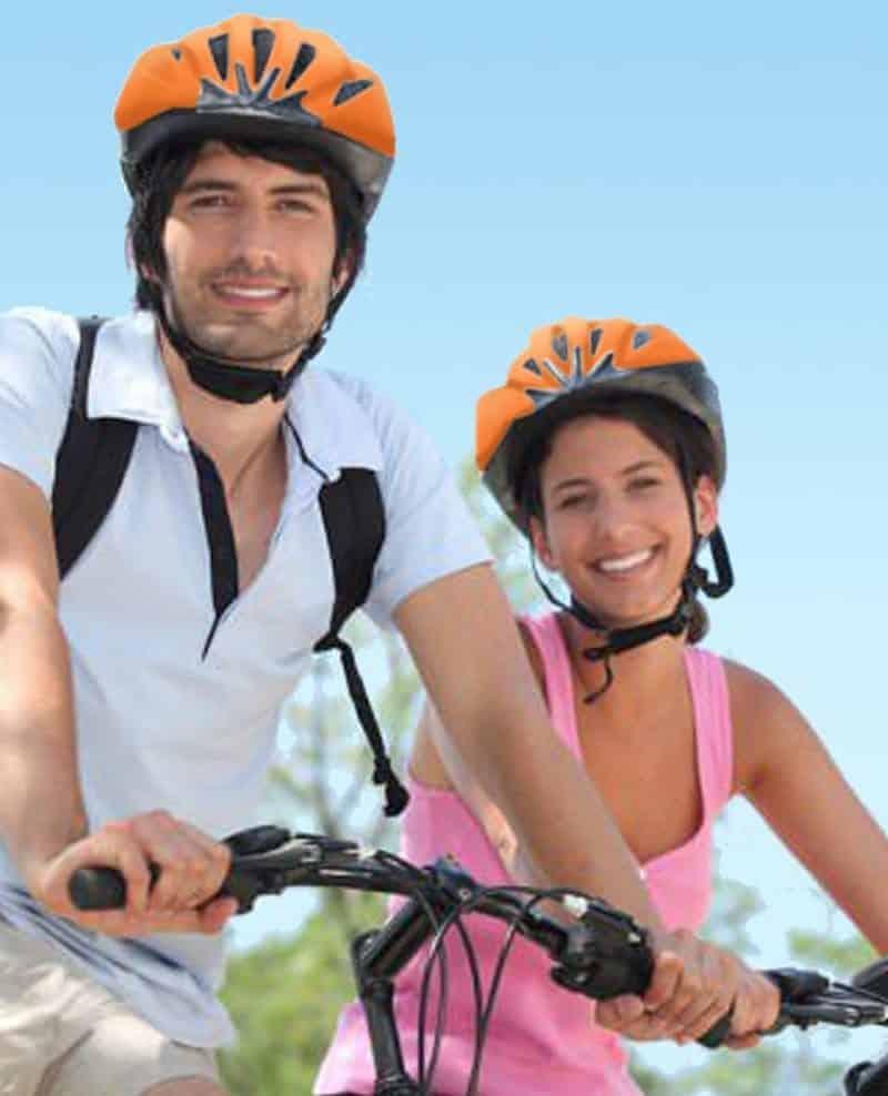Take a bike tour with Wheel Fun Rentals at Boathouse Row