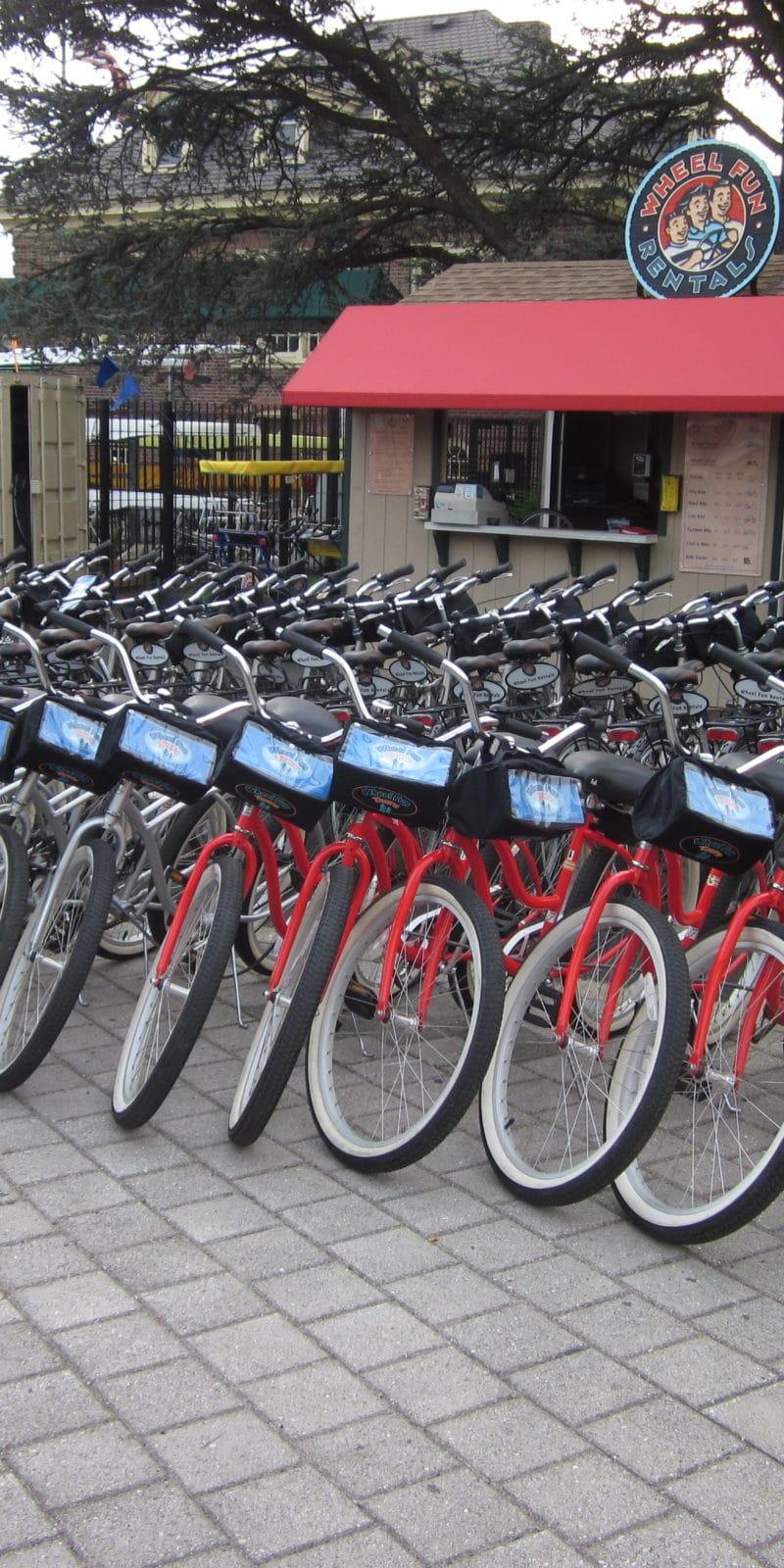 Boathouse Row bike rentals