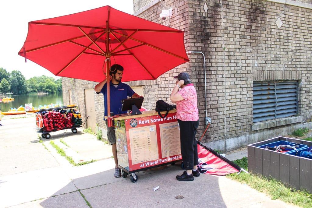FDR Park Philadelphia Bike Rentals Boat Rentals