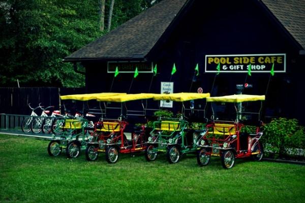 Thonotosassa Hillsborough River State Park Bike Rentals