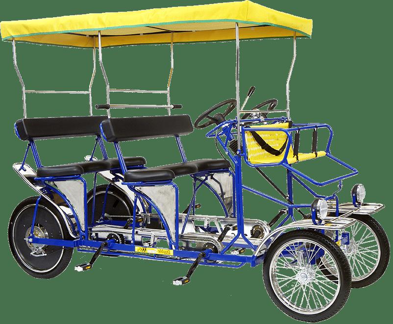 Double Surrey Bike Rental Van Nuys