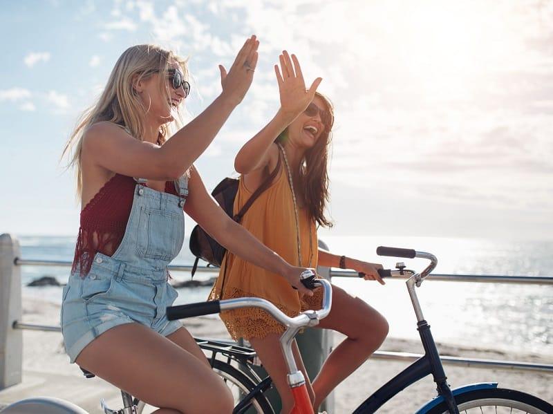 Bike Tour Beach Ocean