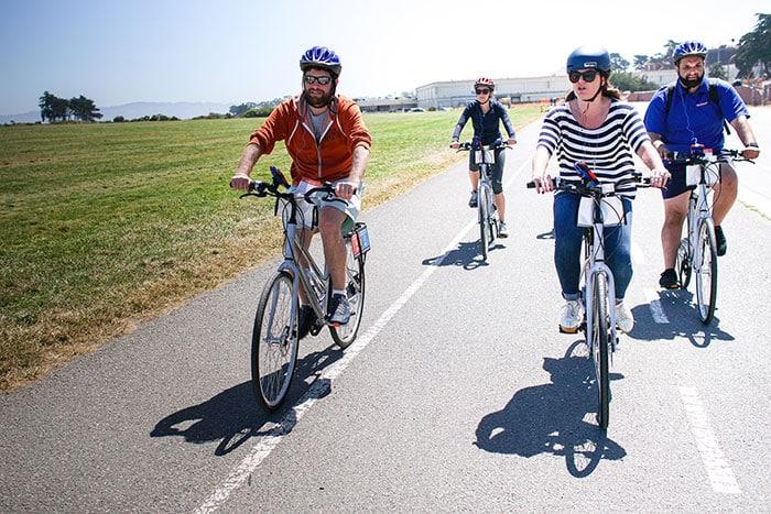 Wheel Fun Rentals San Francisco Bike Tour Crissy Field