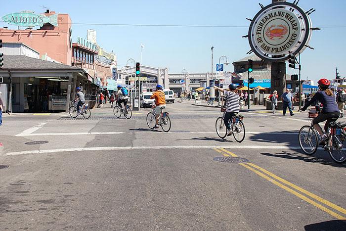 Bike San Francisco Fisherman's Wharf