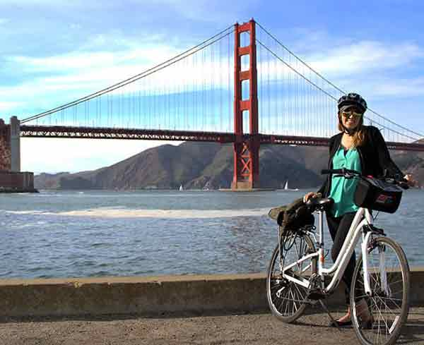 Rent road bikes, tandems, electric bikes, kids bikes and more at Wheel Fun Rentals San Francisco