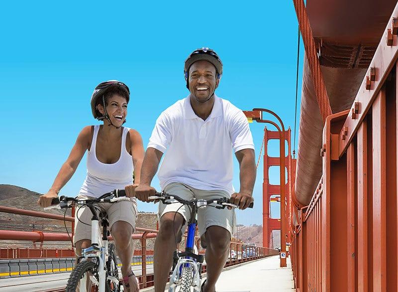 Bike the Golden Gate Bridge in San Francisco