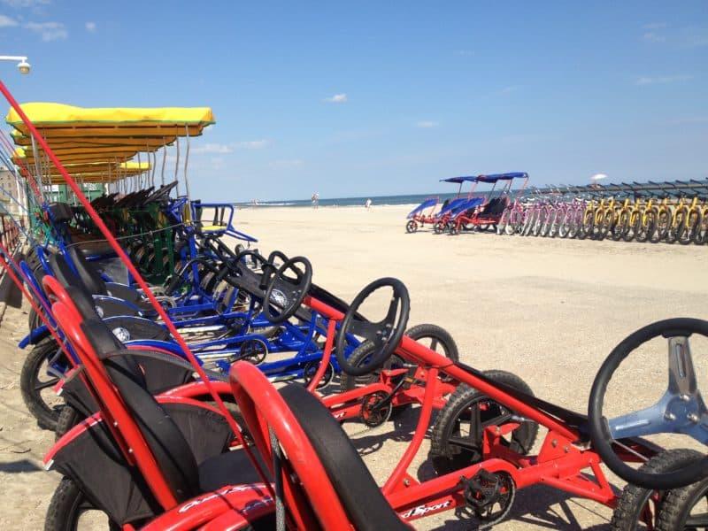 bike rentals at jacob riis beach new york