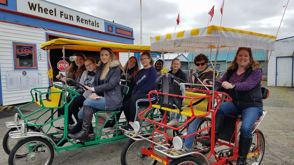 Bike rentals in Seaside, OR.
