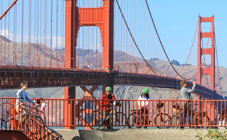 Biking In The Presidio Of San Francisco Wheel Fun Rentals