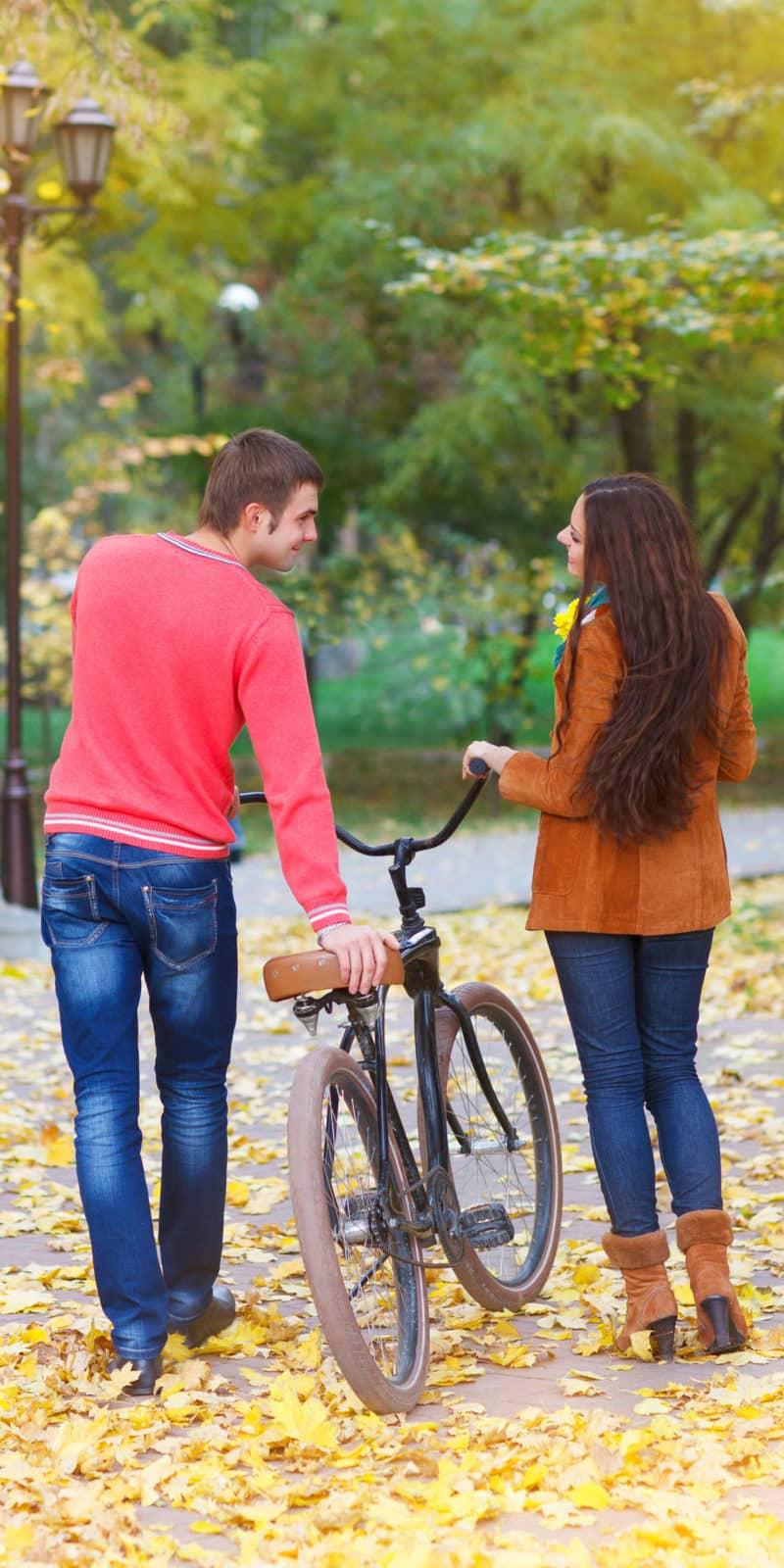 Couple activity bike rentals
