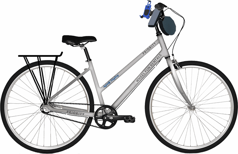Learn about our Priority infinity shifting hybrid bikes
