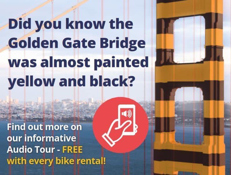 Wheel Fun Rentals offers a free GPS audio bike tour