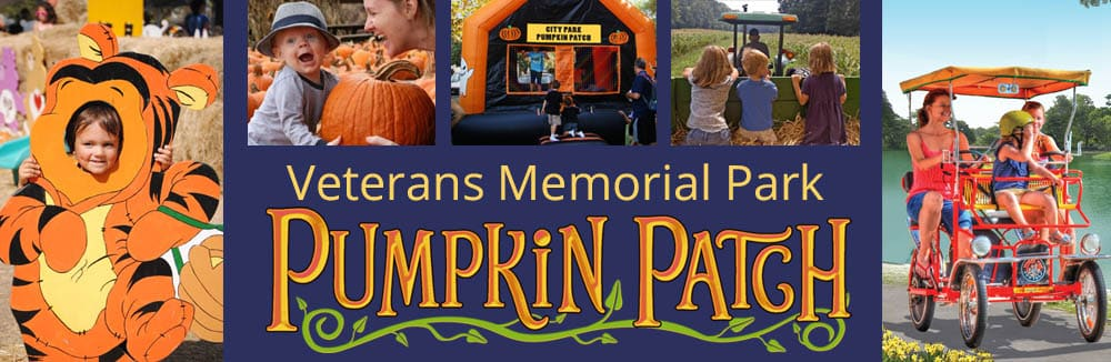 Welcome to the Veterans Memorial Park Pumpkin Patch in Richfield
